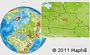 Physical Location Map of Labunshchina