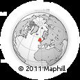 Outline Map of Douglas, rectangular outline
