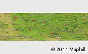 "Satellite Panoramic Map of the area around 54°3'9""N,9°25'30""E"