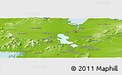 Physical Panoramic Map of Carrowntreila