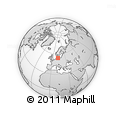 """Outline Map of the Area around 54° 26' 3"""" N, 11° 58' 29"""" E, rectangular outline"""