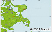 """Physical Map of the area around 54°26'3""""N,13°40'30""""E"""