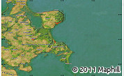 "Satellite Map of the area around 54°26'3""N,13°40'30""E"