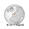 """Outline Map of the Area around 54° 26' 3"""" N, 14° 31' 30"""" E, rectangular outline"""
