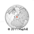 """Outline Map of the Area around 54° 26' 3"""" N, 15° 22' 30"""" E, rectangular outline"""