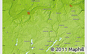 """Physical Map of the area around 54°26'3""""N,17°55'29""""E"""