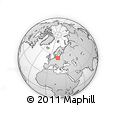 """Outline Map of the Area around 54° 26' 3"""" N, 17° 55' 29"""" E, rectangular outline"""
