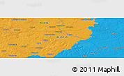 """Political Panoramic Map of the area around 54°26'3""""N,26°25'29""""E"""