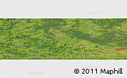 "Satellite Panoramic Map of the area around 54°26'3""N,26°25'29""E"