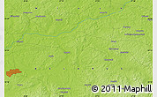 """Physical Map of the area around 54°26'3""""N,27°16'29""""E"""