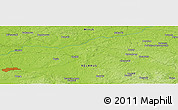 "Physical Panoramic Map of the area around 54° 26' 3"" N, 27° 16' 29"" E"