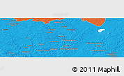 "Political Panoramic Map of the area around 54° 26' 3"" N, 28° 7' 30"" E"