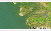 """Satellite 3D Map of the area around 54°26'3""""N,8°34'29""""E"""