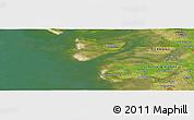 "Satellite Panoramic Map of the area around 54°26'3""N,8°34'29""E"