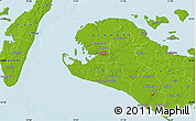 Physical Map of Østofte