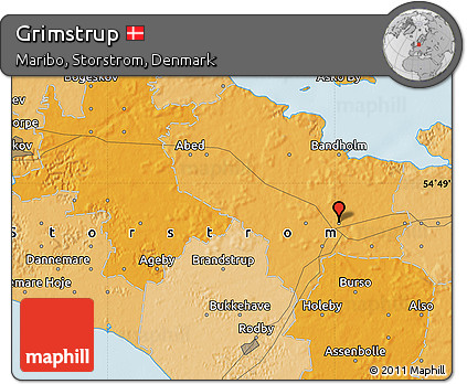Political Map of Grimstrup