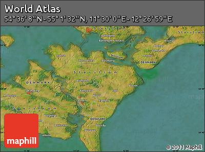 "Satellite Map of the Area around 54°48'50""N,11°58'29""E"