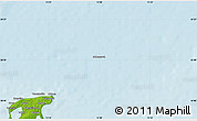"""Physical Map of the area around 54°48'50""""N,13°40'30""""E"""