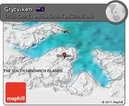 Free Satellite 3D Map of Grytviken