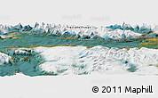 "Satellite Panoramic Map of the area around 54°56'24""S,67°55'30""W"