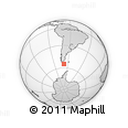 Outline Map of Lapataia, rectangular outline