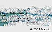 "Satellite Panoramic Map of the area around 54°56'24""S,69°37'30""W"