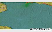 Satellite 3D Map of Elmelunde