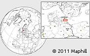 Blank Location Map of Elmelunde