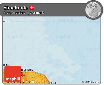 Political Map of Elmelunde