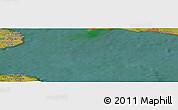 Satellite Panoramic Map of Elmelunde