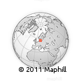 """Outline Map of the Area around 55° 11' 31"""" N, 13° 40' 30"""" E, rectangular outline"""