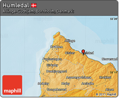 Political Map of Humledal