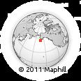 Outline Map of Belkofski, rectangular outline