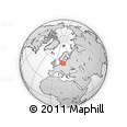 """Outline Map of the Area around 55° 11' 31"""" N, 17° 4' 30"""" E, rectangular outline"""