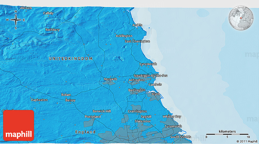 Detailed Satellite Map Political d  Bedrooms For