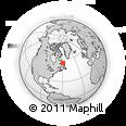 Outline Map of Cape Makkovik, rectangular outline