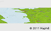 Physical Panoramic Map of Bovense