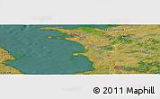 Satellite Panoramic Map of Bovense