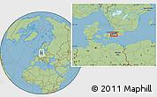"Savanna Style Location Map of the area around 55°34'4""N,12°49'29""E"
