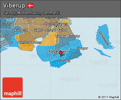 Free Political Map of Viberup