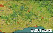 "Satellite Map of the area around 55°34'4""N,13°40'30""E"