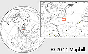 """Blank Location Map of the area around 55°34'4""""N,16°13'30""""E"""