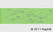 """Political Panoramic Map of the area around 55°34'4""""N,35°46'29""""E"""