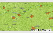 Physical 3D Map of Andriyankovo