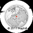 Outline Map of Goloven'ka, rectangular outline