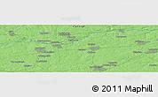 Political Panoramic Map of Goloven'ka