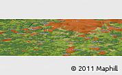 Satellite Panoramic Map of Aleksandrovka