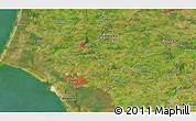 Satellite 3D Map of Bramming