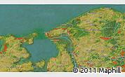 Satellite 3D Map of Hillerød