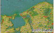 Satellite Map of Bakkebjerg